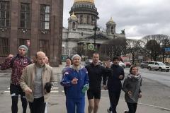 Беговая экскурсия RunPiter День Победы 21