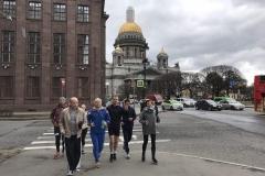 Беговая экскурсия RunPiter День Победы 7
